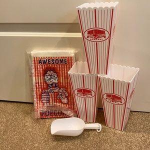 Popcorn accessory lot